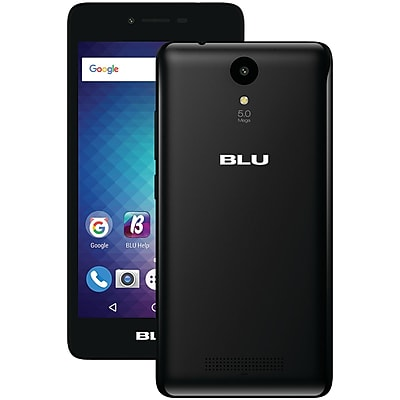 BLU Products S010QBLK STUDIO G2 Smartphone (Black)