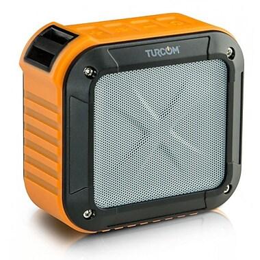 Turcom TS-456 AcoustoShock Mini Wireless Portable Speaker, Orange
