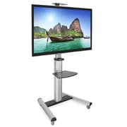 Mount-It! TV Cart FIts DIsplays from 32 to 70 Inch (MI-875)