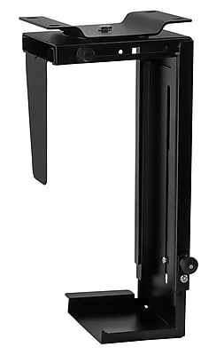 Mount-It! Mi-7150 CPU Under Desk Mount Computer Tower Holder Adjustable Height and Width Wall-Mountable