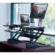 Mount-It! Standing Desk Sit-Stand Desk Converter, Height Adjustable (Mi-7920)