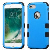 Insten Tuff HybrId 3-Layer Shock-absorbIng Case For Apple IPhone 7 - Blue/Black