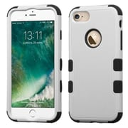 Insten Tuff HybrId 3-Layer Shock-absorbIng Case For Apple IPhone 7 - Gray/Black
