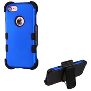 Insten Tuff Hard HybrId SIlIcone Case w/Holster For Apple IPhone 7 - Blue/Black