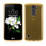 Insten Gel TPU Rubber SkIn Case For LG K7 K8 - Gold