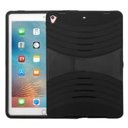 "Insten Rubber HybrId Hard Case w/stand For Apple IPad Pro (9.7"") - Black"