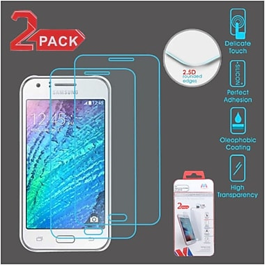 Insten 2-Pack Clear Tempered Glass LCD Screen Protector FIlm Cover For Samsung Galaxy J7 (2015/2016)