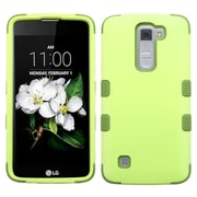 Insten Tuff Hard HybrId Rubber SIlIcone Cover Case For LG K7 TrIbute 5 - Green