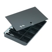 MMF Duralite Tray, 10 Compartments, Black (2252862C04)