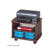 Safco Picco 2-Shelf Wood Printer Stand, Mahogany (1954MH)