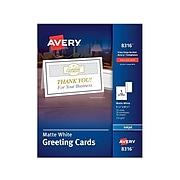 Avery Half-Fold Anytime Cards, 30/Box (8316)