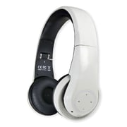 Connectland Bluetooth v3.0 WIreless Headphone Headset wIth Control + MIc WhIte