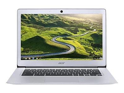 "Acer 14 CB3-431-C3WS 14"" Refurbished Chromebook, Intel N3160, 32GB Memory"