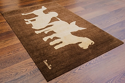 Doortex Rectangular Wash Room Mat, Dog 24