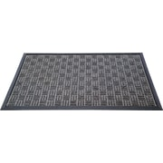 "Floortex Doortex  Ribmat Heavy Duty Indoor/Outdoor Entrance Mat 48""x72"" Charcoal(FR412180FPRGR)"
