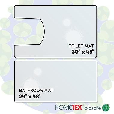 Hometex Anti-Microbial Bathroom Starter Set (2 Pieces)(FRHMBRSET1)