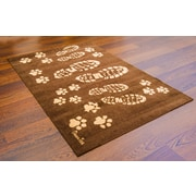 "Doortex Rectangular Wash Room Mat, Boots 24""x39""(FR4WR2439BBR)"