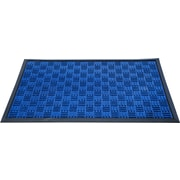 "Floortex Doortex  Ribmat Heavy Duty Indoor/Outdoor Entrance Mat 32""x48"" Blue(FR480120FPRBL)"
