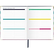 "2020 Simplified 8"" x 10"" Weekly/Monthly Hardcover Planner Happy Stripe (EL301-903-20)"