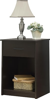 Ameriwood Home Core Nightstand, Espresso (5497012COM)