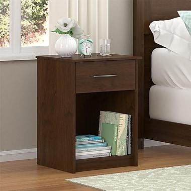 Ameriwood Home Core Nightstand, Medium Brown (5497328COM)