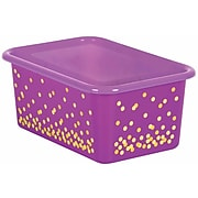 Teacher Created Resources Clear Plastic Storage Bin Lid, Small, Pack of 6 (TCR20342BN)