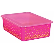 Teacher Created Resources Clear Plastic Storage Bin Lid, Large, Pack of 5 (TCR20343BN)