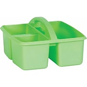 Teacher Created Resources Mint Plastic Storage Caddy, Pack of 6 (TCR20906BN)