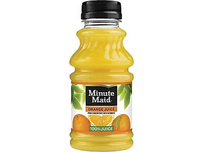 Minute Maid Orange Juice, 10 Oz., 24/Carton (00025000056857)