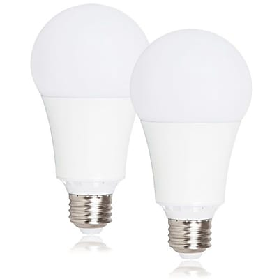 Maxxima Dimmable A21 LED Light Bulb 1600 Lumens 15 Watts Warm White, 2 Pack (MLB-211500W-02)