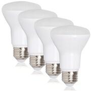 Maxxima BR20 LED 7 Watt Warm White 600 Lumens 50 Watt Equivalent, Pack of 4 (MLB-BR2070W-4)