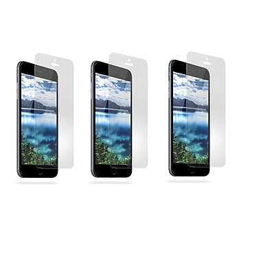 Overtime Tempered Glass Screen Protector For Apple iPhone 6 Plus -Pack of 3
