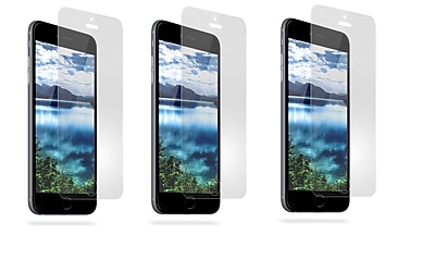 Overtime Tempered Glass Screen Protector For Apple iPhone 6, 6s -Pack of 3