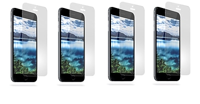 Overtime Tempered Glass Screen Protector For Apple iPhone 6 Plus - Pack of 4
