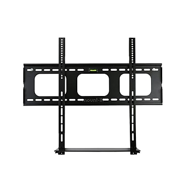 Mount-It! Low Profile Flat Panel TV Mount and Glass Entertainment Center Combo (Mi-881)