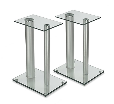 Mount-It! Satellite Speaker Stands for Surround Sound Home Theaters (Set of 2) (MI-28S)
