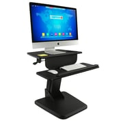 "Mount-It! Sit Stand Desk Converter, Height Adjustable Standing Desk, 23.5"" x 16"" Stand-Up Workstation, holds 29 lbs (MI-7910)"