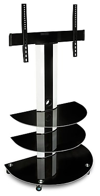 Mount-It! TV Cart Mobile TV Stand with 32