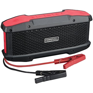Powerall Pbjs16000ws 600-amp Journey Jump Starter With 5-watt Bluetooth(r) Speaker, 16,000mah Power Bank & Led Flashlight