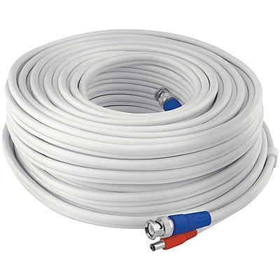 Swann Swpro-60mtvf-gl Fire-rated Bnc Video/power Extension Cable, 200ft