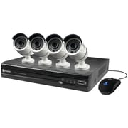 Swann Swnvk-874004-us 8-channel 1080p Nvr With 4 Nhd-818 Cameras