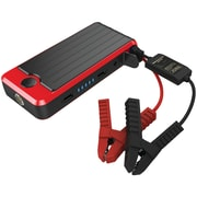 Powerall Pbjs12000rd 400-amp Deluxe Jump Starter With 12,000mah Power Bank & Led Flashlight