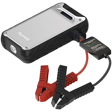 Powerall Pbjs12000ae 400-amp Element Jump Starter With 12,000mah Power Bank & Led Flashlight