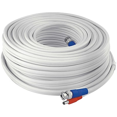 Swann Swpro-30mtvf-gl Fire-rated Bnc Video/power Extension Cable, 100ft