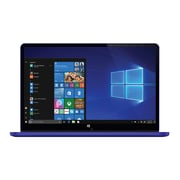"Xo Vision Ematic EWT117BU 11.6"" 2-in-1 Laptop, Intel Atom, 32GB eMMC, 2GB RAM, Windows 10, Blue"