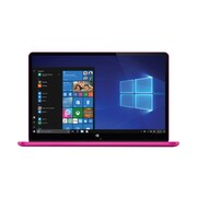 "Xo Vision Ematic EWT117PK 11.6"" 2-in-1 Laptop, Intel Atom, 32GB eMMC, 2GB RAM, Windows 10, Pink"