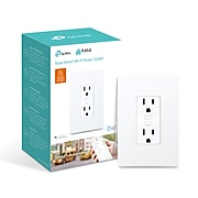 TP-Link Kasa Smart WiFi Power Outlet, White (KP200)