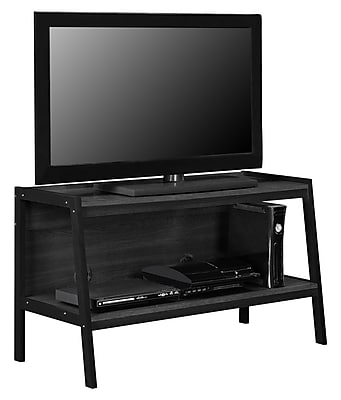 """Ameriwood Home Lawrence Ladder TV Stand, Black, For TVs up to 45"""" (1727096)"""