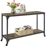 Ameriwood Home Cecil Wood Veneer Console Table, Rustic (5075096)