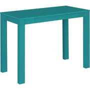"Ameriwood Home Parsons 39""W Desk with Drawer, Teal (9859296PCOM)"